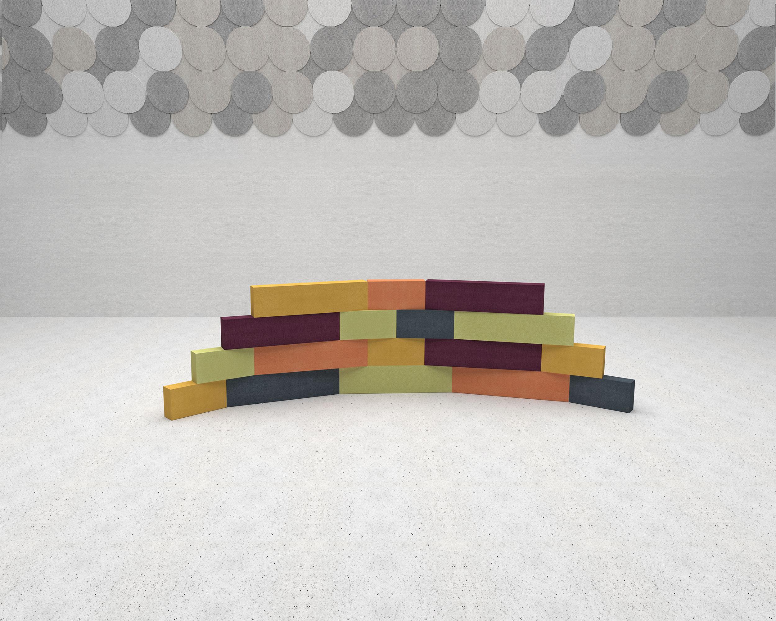 Brickwall-pile