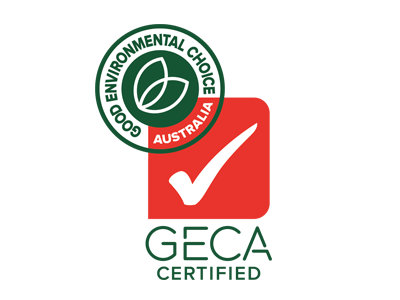 Geca with ECO Label Small